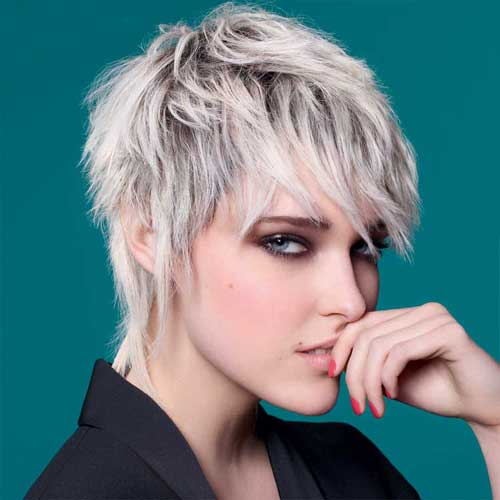 CRAZY SPIKY SHORT HAIRCUTS FOR LADIES &OLDER WOMEN 1
