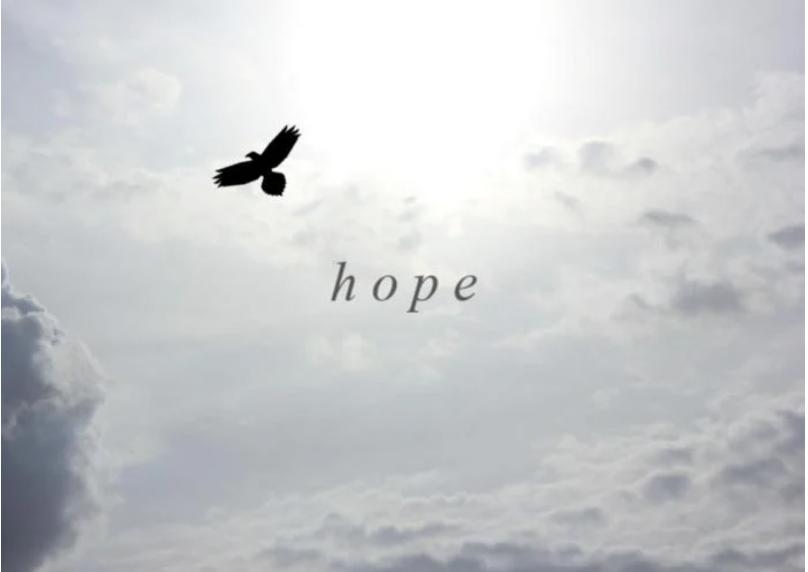 Hope motivates life.