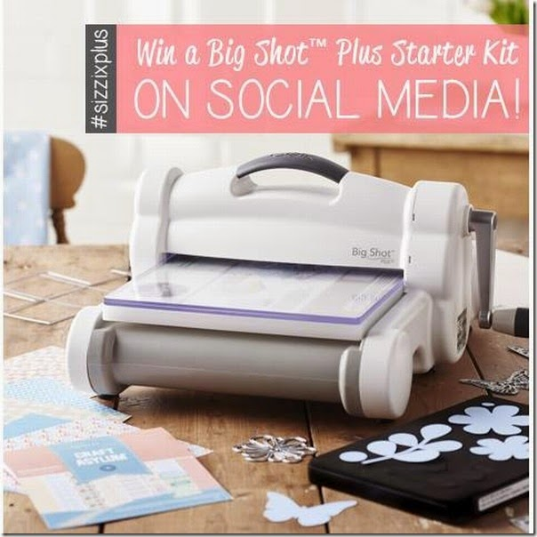 concorso sizzix - vinci una big shot plus