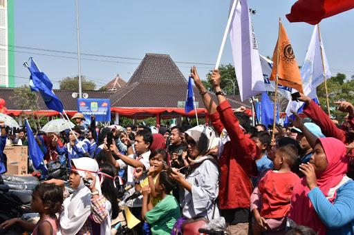 Inilah Peringatan May Day di Karawang