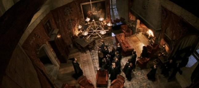 ห้องนั่งเล่นบ้านกริฟฟินดอร์
