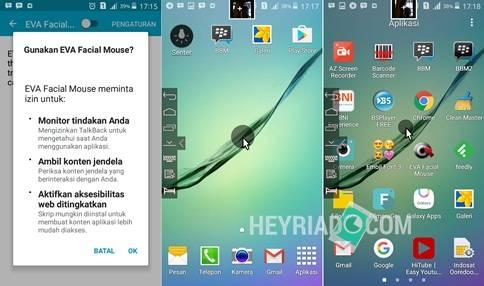 Setiap pengguna dapat melaksanakan banyak sekali hal didalam smartphone mereka Cara Mengendalikan Android Dengan Wajah Menggunakan Eva Facial Mouse