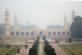 Complete view of Jahangir's tomb
