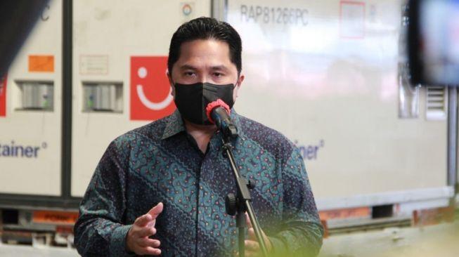 Ketua Uji Klinis Vaksin Sinovac Meninggal karena Corona, Erick Thohir Berduka