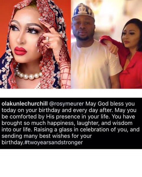 Tonto Dikeh's ex-husband, Olakunle Churchill reveals that he's been married to his PA and lady who was at the center of his divorce Rosy Meurer for two years, tonto dike marriage saga, entertainment news, gossip, sd news blog
