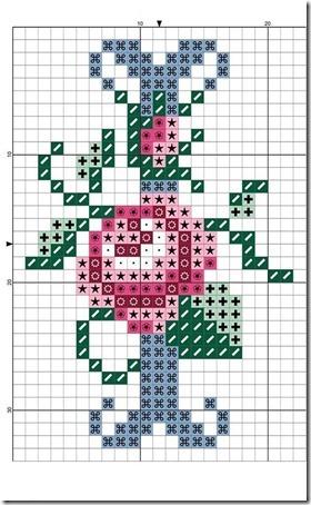 abc punto cruz letras con rosas  (8)