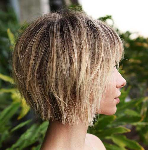 Layered Short Haircuts For Woman In 2018 7