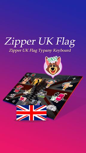 Zipper UK Flag Theme Keyboard  screenshots 3