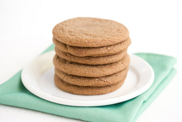 photo of a stack of Biscoff cookies on a plate