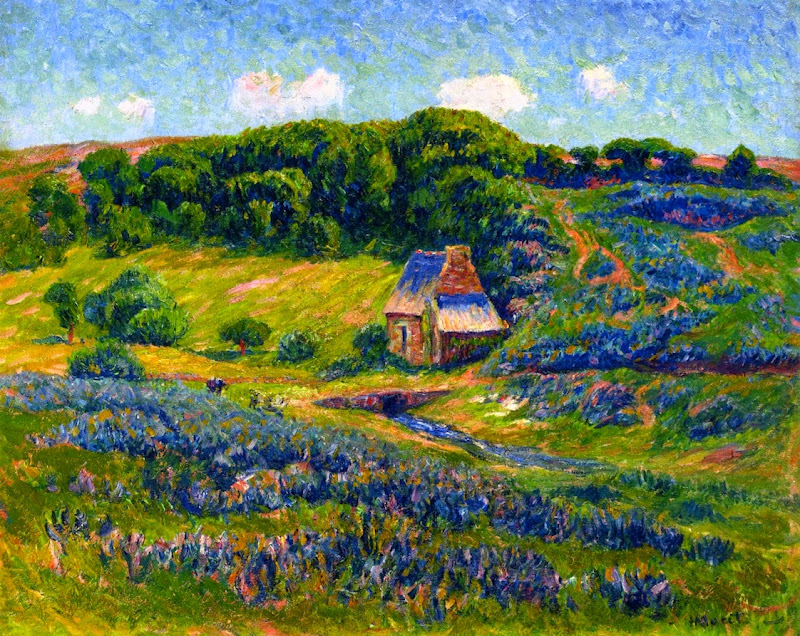 Henry Moret - Farm in the Breton Countryside