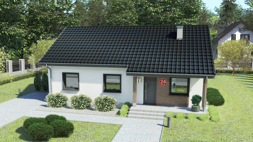 projekt Dom przy Bukowej 24