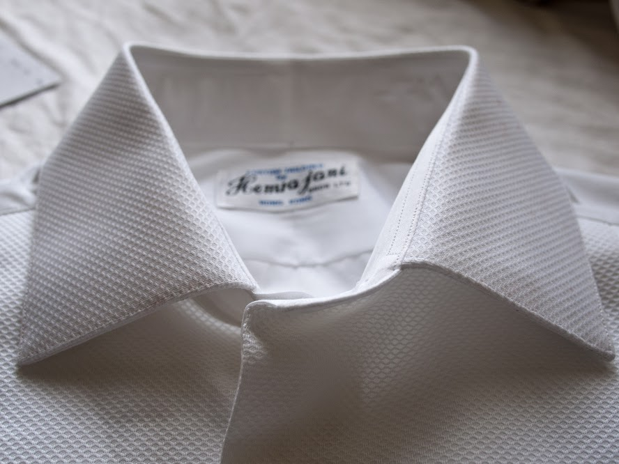 Tuxedo shirt by Joe Hemrajani from MyTailor.com
