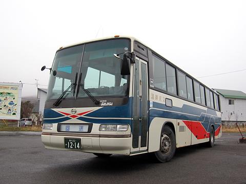沿岸バス「豊富留萌線」 1214