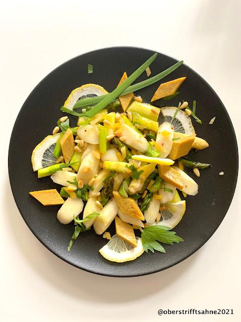 Spargelsalat crossover, von orientalisch bis asiatisch