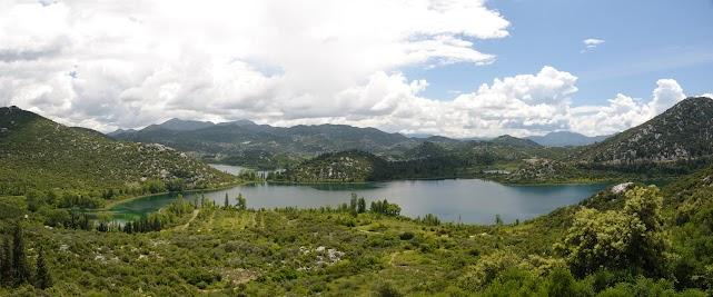 Die Bacinska Seen nahe Ploce