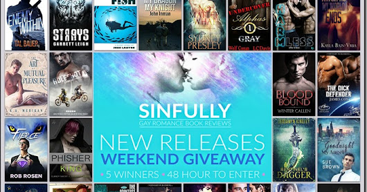 ☆ New Releases Weekend Giveaway ☆ 5 Winners ☆ 48 Hours to Enter ☆