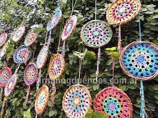 Mandala crochet www.tirnanogduendes.com.ar/crochet