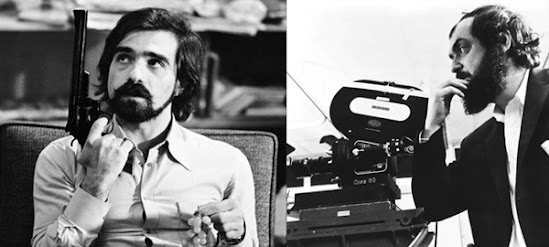 Martin Scorsese and Stanley Kubrick