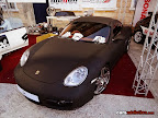 Wrapped Porsche in Matte black by Carden Mizzi from Carden Automotive Arts