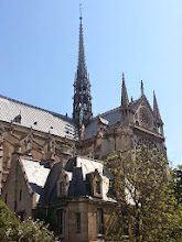 Photo: Notre Dame - Originally a Roman temple to Jupiter, a cathedral was ordered in 1163. Gothic architecture was believed to have started here. Joan of Arc was tried for heresy here.
