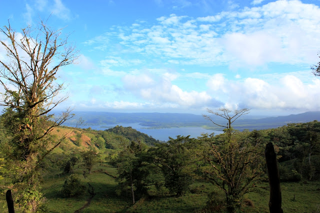 View from the farm at Essence Arenal