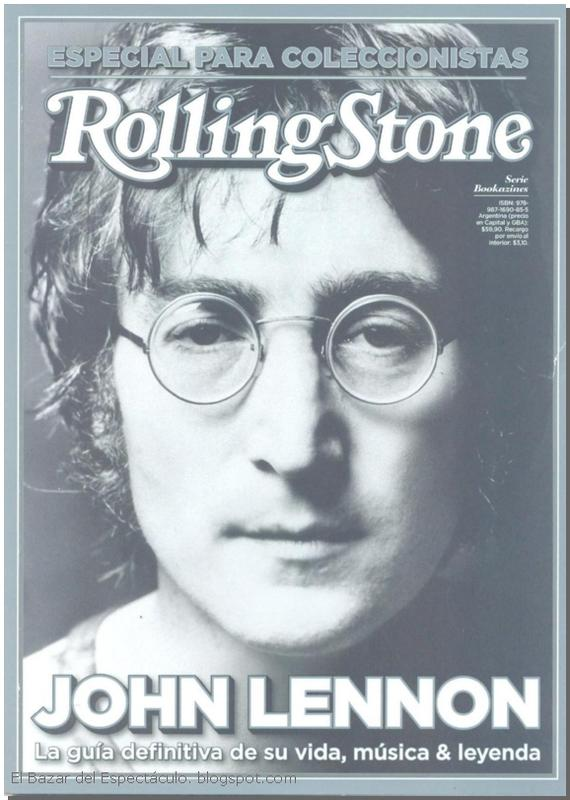 Bookazine john lennon revista rolling stone lanzamiento for Revistas del espectaculo