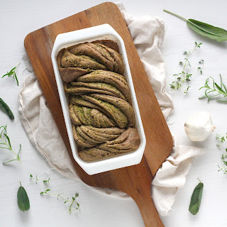 Scarborough Fair Herb Swirl Bread