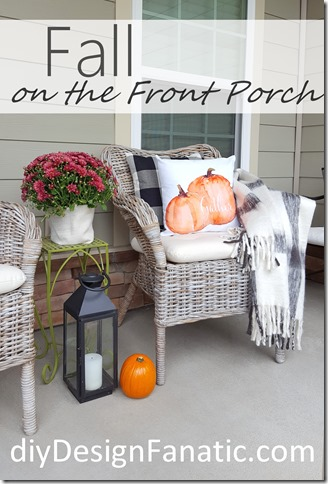 Fall foyer, cottage, farmhouse, white pumpkins, fall porch, fall screened porch, fall pillows, farmhouse sign, farmhouse, cottage, fall mantel