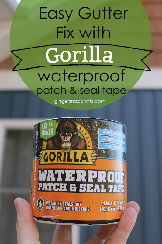 Easy Gutter Fix with Gorilla Waterproof Patch & Seal Tape