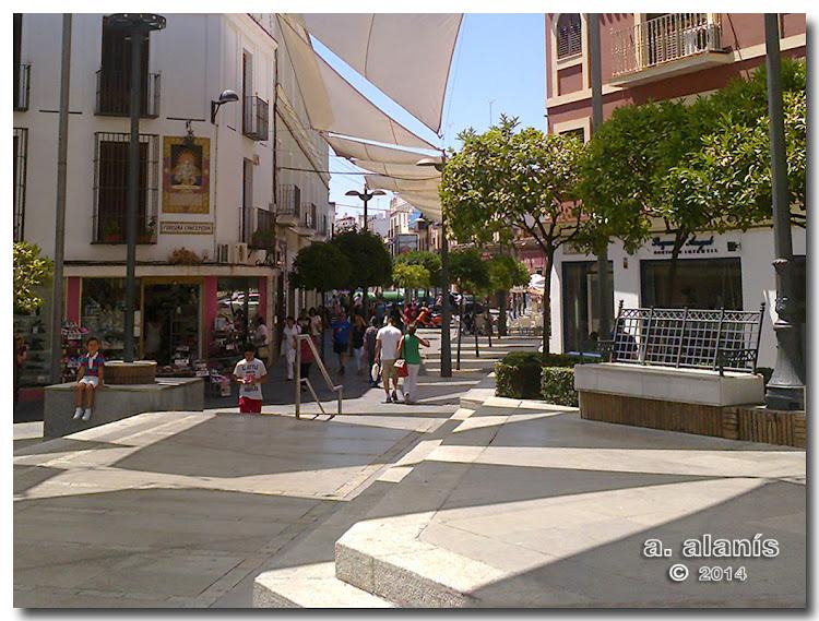 Plaza de la Mina esquina a calle Purísima Concepción
