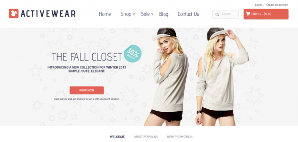 Activewear Shopify Theme