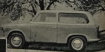 Sachsenring 1960 Trabant