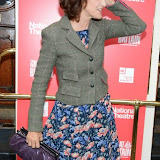 WWW.ENTSIMAGES.COM -  Haydn Gwynne   arriving  at     Great Britain - press night at Theatre Royal Haymarket, London September 26th 2014West End Opening at Theatre Royal Haymarket for Richard Bean's GREAT BRITAIN -  Play about an ambitious tabloid editor in production described as anarchic satire about the press, the police and the political establishment.                                                    Photo Mobis Photos/OIC 0203 174 1069