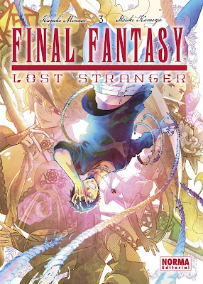 Final Fantasy: Lost Stranger de Hazuki Minase e Itsuki Kameya, publicado por Norma Editorial.