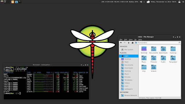 Lançado DragonFlyBSD 5.8.2