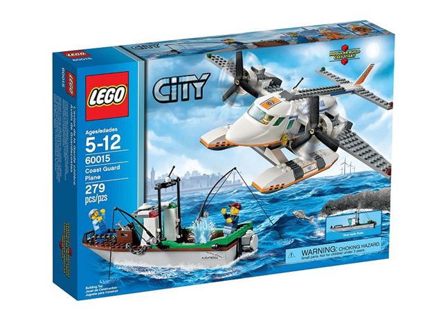 60015 レゴ レスキュープレーンとフィッシングボート