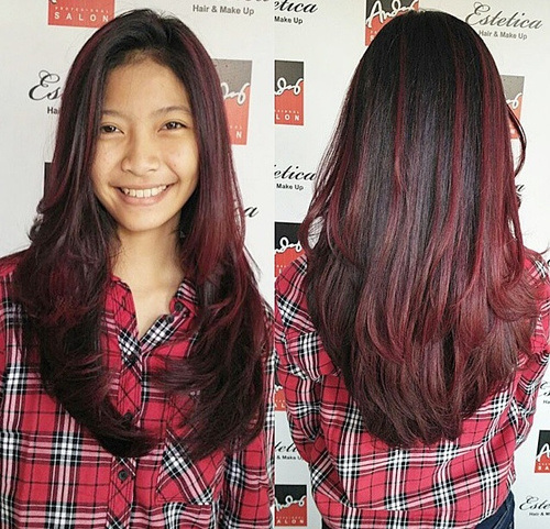 Shoulder Length Hair With Ombre Highlights Fashion Qe
