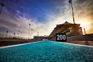 Empty Yas Marina Circuit