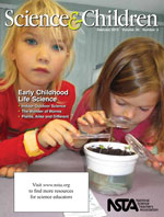 Cover of the February 2013 issue of Science and Children