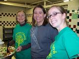 Serving Dinner at the Women's REST Shelter