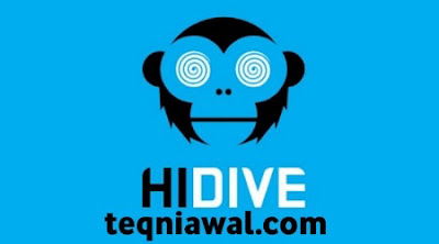 Hidive- تطبيقات لمشاهدة الانمي