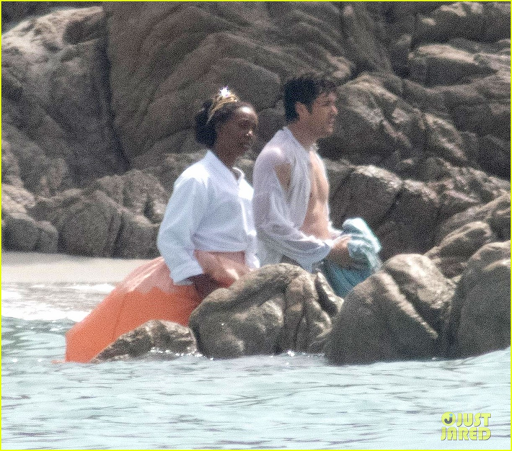 Prince Eric searches the ocean with Carlotta