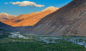 Beautiful View of Langar, Gilgit-Baltistan