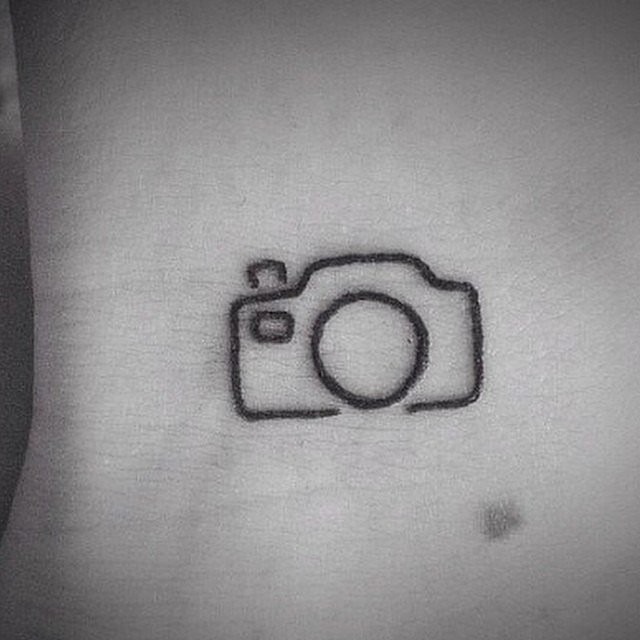 I love Photography Tattoo Idea