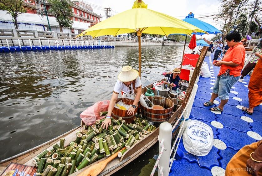 ตลาดน้ำวิถีไทย คลองผดุงกรุงเกษม