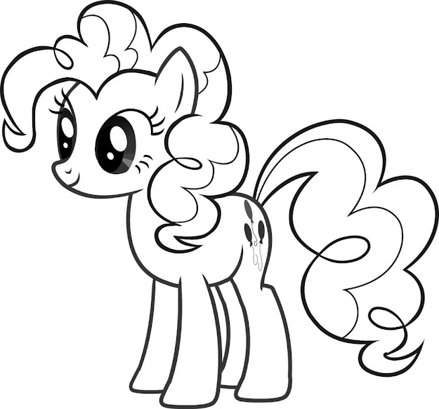 New Coloring Page  My Little Pony Coloring Pages  Girl Coloring  Pages