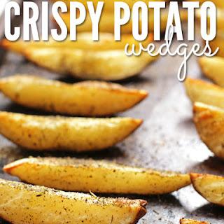 Perfectly Roasted Crispy Potato Wedges