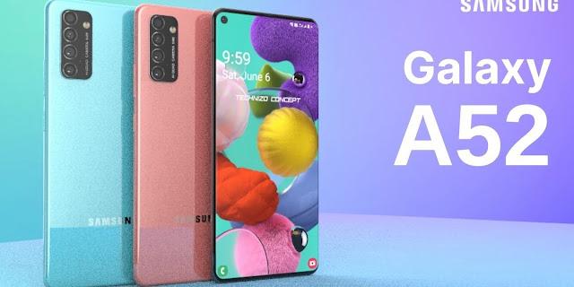 مواصفات وسعر هاتف سامسونج الجديد Samsung Galaxy A52