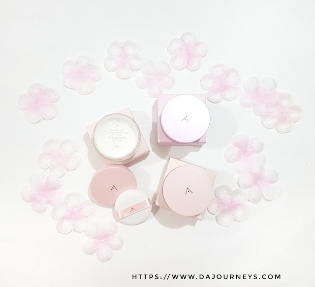 Review Althea Korea's Petal Velvet Powder