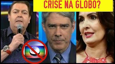 EM CRISE? Globo diminui salário de apresentadores e repórteres e gera revolta dentro da emissora